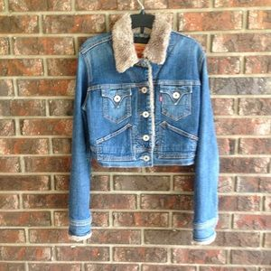 Levi Strauss Denim Jacket Size Small